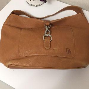 Dooney & Bourke tan hobo shoulder purse